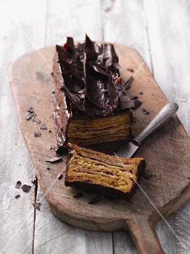 Classic Baumkuchen (German layer cake)