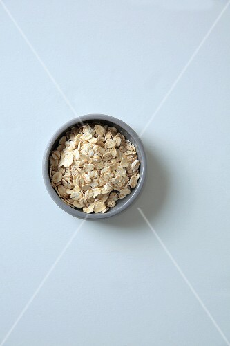 A bowl of oats