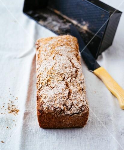 Gluten-free wholemeal sour dough bread