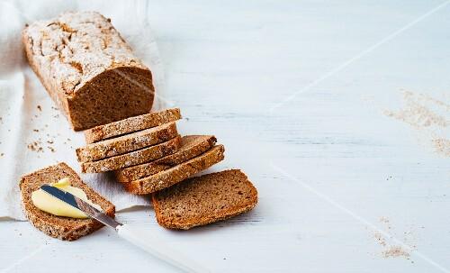 A loaf of gluten-free bread