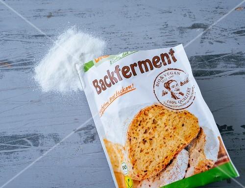 Gluten-free baking ferment