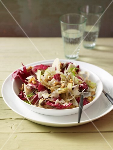 Radicchio and fennel salad