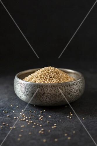 Quinoa in a dish