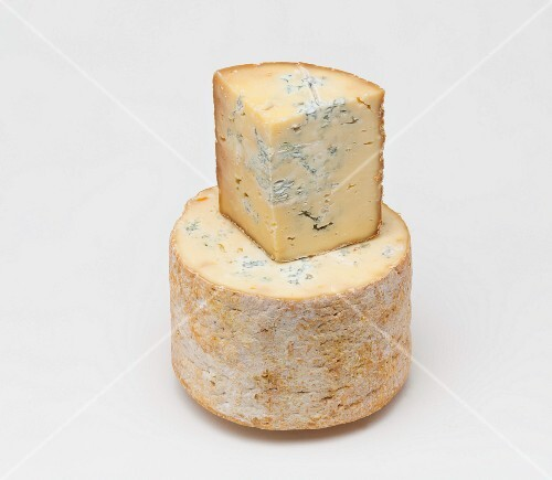 Fourme de Montbrison (blue cheese from France)