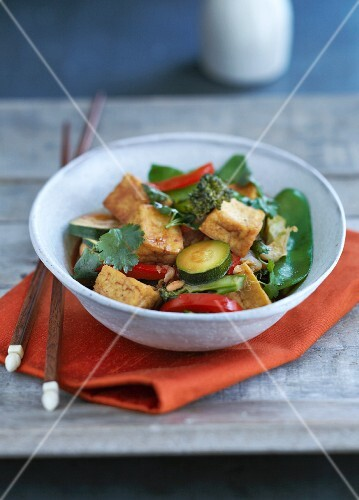 Vegetable stew with tofu (China)