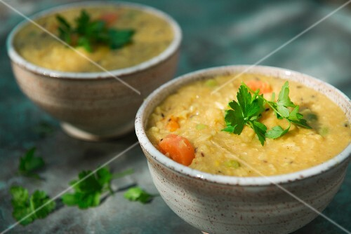 Kitchari with butternut squash