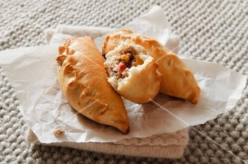 Kibiny (meat pasties, Eastern Europe)