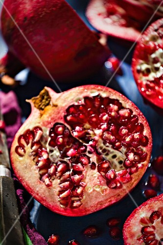 Pomegranates (close-up)