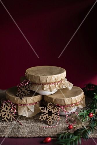 Christmas puddings as a gift