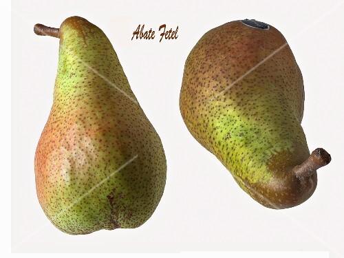 Two Abate Fetel pears