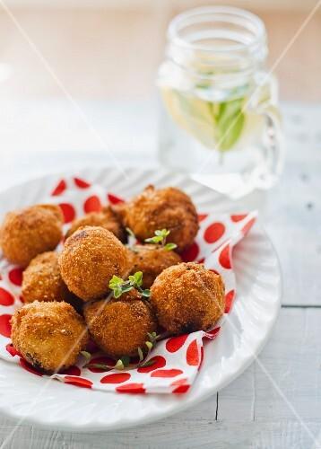 Arancini (fried rice balls, Italy)