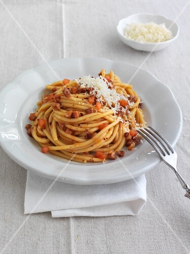 Spaghettoni all Amatriciana