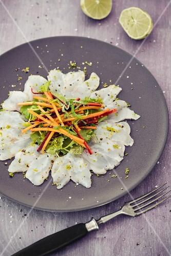 Monk fish ceviche
