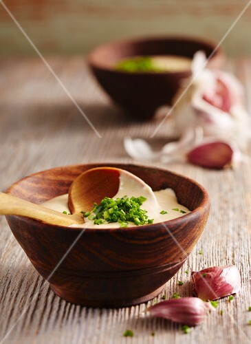Aioli with chives