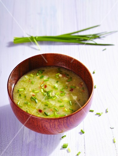 Potato dressing with bacon and chives