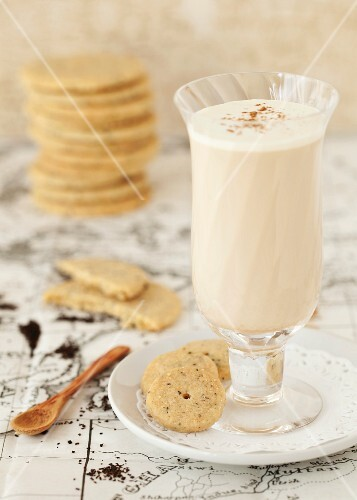 A chai latter and chai tea biscuits