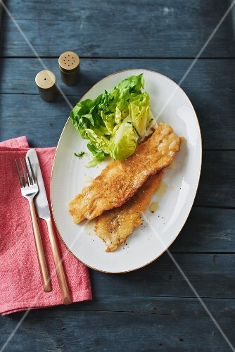 Whitefish in beer batter