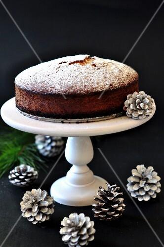 Babka (Polish yeast cake) for Christmas