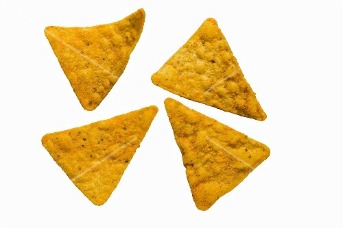 Four ranch tortilla chips with a smoky flavour