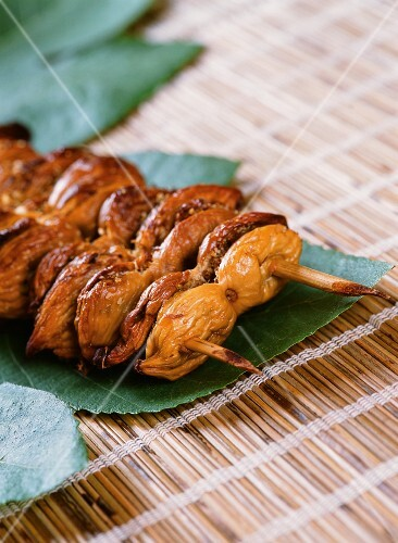 Fichi con le mandorle (dried figs filled with almonds, Italy)