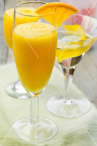 Mimosas and a Martini