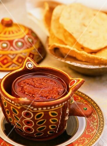 Indian chilli sauce