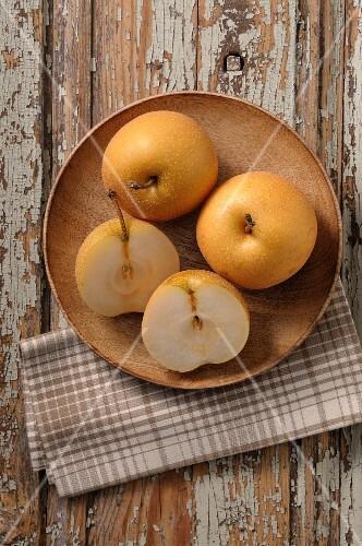 Nashi pears