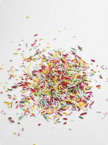Coloured sprinkles