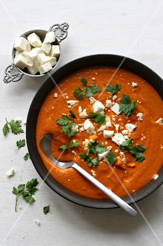 Paneer Tikka Masala (Indian cheese dish)