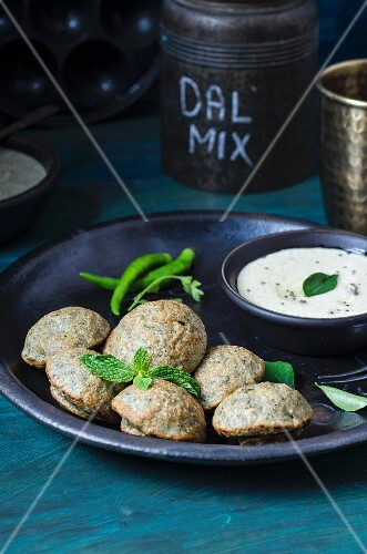 Panchratan Dal Adai (Indian snack)