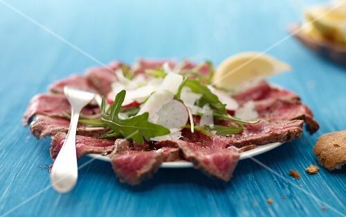 Steak carpaccio