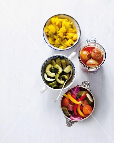 Various pickles