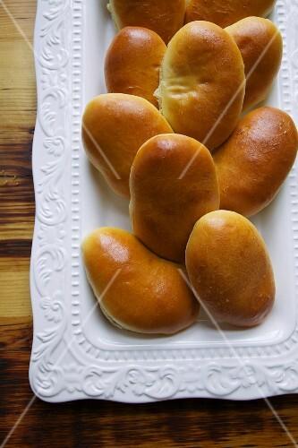 Traditional Russian Pirozhki