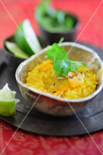 Kitchari (Ayurveda dish made with rice and mung beans, India)