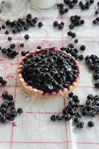 Bilberry tartlets