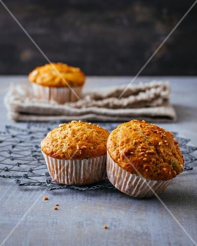 Yoghurt spice muffins