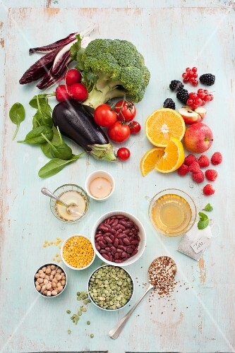 Obst & Gemüse für die Low-Carb-Küche – Bilder kaufen ...