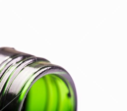 A bottle neck (close-up)