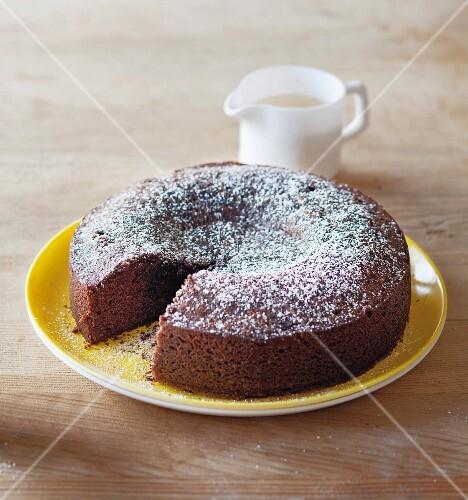 Chocolate chilli fudge cake