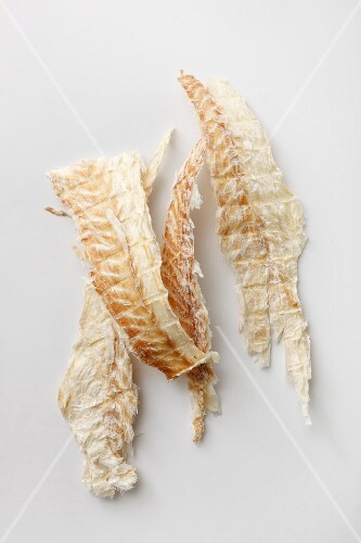 Dried Icelandic fish