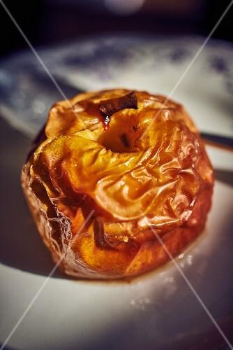 A baked apple