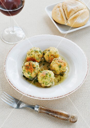Repápalos (dumplings from Extremadura)