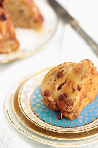 Budin de pan (Argentinian bread cake)