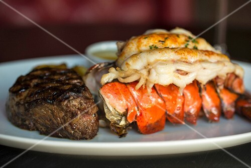 Surf & Turf: fillet mignon and lobster