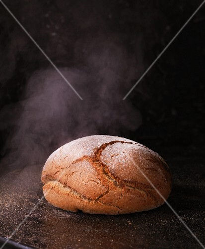 Steaming bread