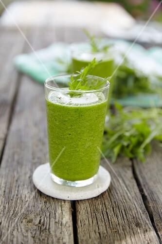 A celery smoothie