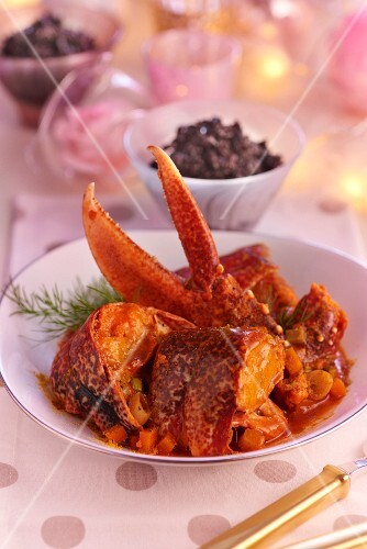 Lobster curry for Christmas