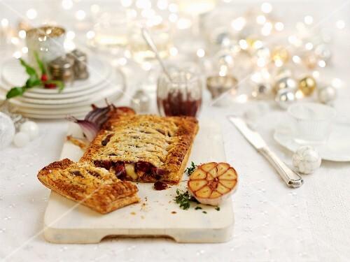 Vegetarian Wellington for Christmas