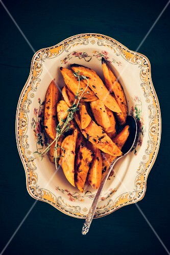 Oven-roasted yams