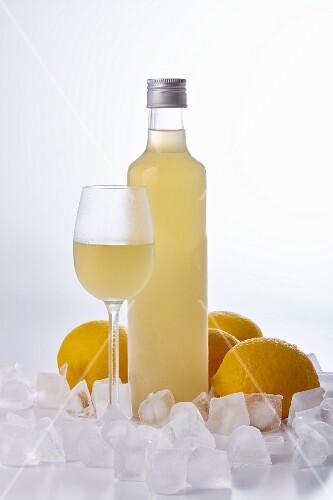 Limoncello di Sorrento (Italian lemon liqueur)